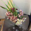 常連のお客様からお花を頂きました!(^^)!