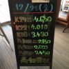\12/21 本日の貴金属相場を更新いたしました!貴金属は大阪屋!/