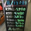 \8/13 本日もお盆の為変動はございません!貴金属は大阪屋!/