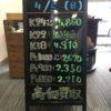 \4/5本日は日曜日の為変動はございません!貴金属は大阪屋!/